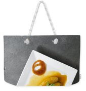 Banana Flambee With Caramel Asian Dessert Weekender Tote Bag