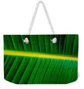 Banana Plant Leaf Weekender Tote Bag
