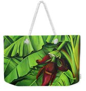 Banana Tree Flower Weekender Tote Bag