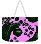 Bananas Are Not The Only Fruit Purple Weekender Tote Bag