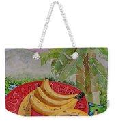 Bananas On A Plate Weekender Tote Bag