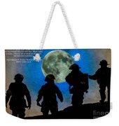 Band Of Brothers - Oil Weekender Tote Bag