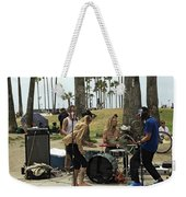 Band Playing 2 Weekender Tote Bag