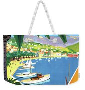 Bandol, French Riviera, Boats On Port Weekender Tote Bag
