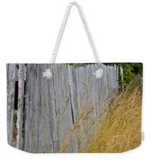 Bandon Beach Fence Weekender Tote Bag
