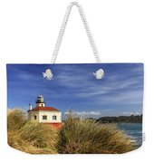 Bandon Coquille River Lighthouse Weekender Tote Bag