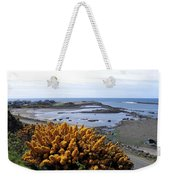 Bandon Harbor Entrance Weekender Tote Bag