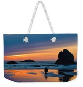 Bandon Sunset Photographer Weekender Tote Bag