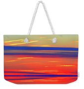 Bands Of Colour Five  Weekender Tote Bag