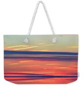 Bands Of Colour Three  Weekender Tote Bag