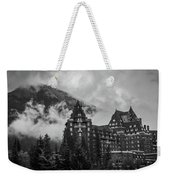 Banff Fairmont Springs Hotel Weekender Tote Bag
