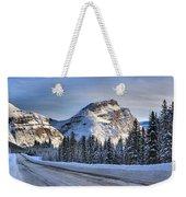 Banff Icefields Parkway Weekender Tote Bag