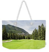 Banff Springs Golf And The Castle Weekender Tote Bag