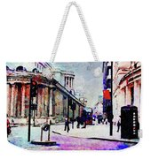 Bank Weekender Tote Bag