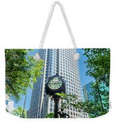 Bank Of America Corporate Center In Charlotte, Nc Weekender Tote Bag