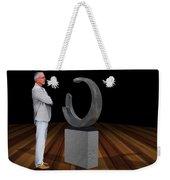 Bank Sculpture Design Weekender Tote Bag