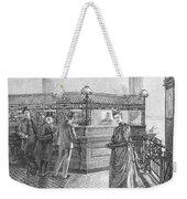 Banking, 19th Century Weekender Tote Bag