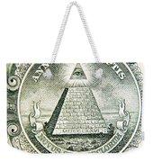 Banknote Detail Weekender Tote Bag