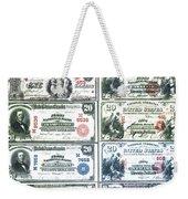 Banknotes Weekender Tote Bag