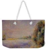 Banks Of The River 1876 Weekender Tote Bag