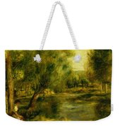 Banks Of The River Weekender Tote Bag