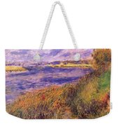 Banks Of The Seine At Champrosay Weekender Tote Bag