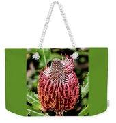 Banksia In Red Weekender Tote Bag