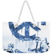 Banksy Soldiers-blue Weekender Tote Bag