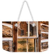 Bannack Reflection In The Past Weekender Tote Bag