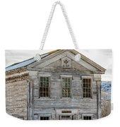 Bannack Schoolhouse And Masonic Temple Weekender Tote Bag