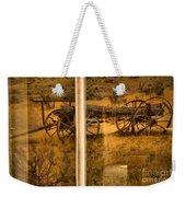 Bannack Wagon Reflections Weekender Tote Bag