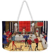 Banquet, 15th Century Weekender Tote Bag