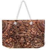 Banteay Srei Bas Relief Carvings - Cambodia Weekender Tote Bag