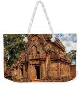 Banteay Srei Mandapa Sanctuary - Cambodia Weekender Tote Bag