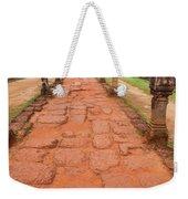 Banteay Srei Red Sandstone Road - Cambodia Weekender Tote Bag