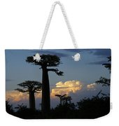 Baobabs And Storm Clouds Weekender Tote Bag