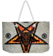 Baphomet - Satanic Pentagram - 666 Weekender Tote Bag