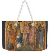 Baptism Altarpiece Weekender Tote Bag