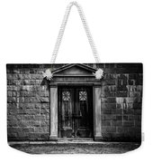 Bar Across The Door Weekender Tote Bag