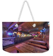Bar At The Dixie Chicken Weekender Tote Bag
