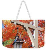 Bar Harbor Color Weekender Tote Bag