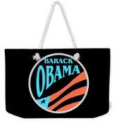 Barack Obama Design Weekender Tote Bag