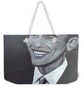 Barack Obama Weekender Tote Bag by Richard Le Page