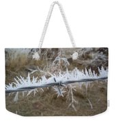 Barb Wire Weekender Tote Bag
