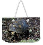 Barbados Wildlife Reserve-red Footed Tortoise #1 Weekender Tote Bag by PJ Boylan