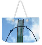 Barbed Wire Sky Weekender Tote Bag