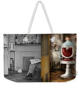 Barber - Our Family Barber 1935 - Side By Side Weekender Tote Bag