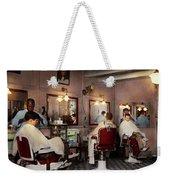 Barber - Senators-only Barbershop 1937 Weekender Tote Bag