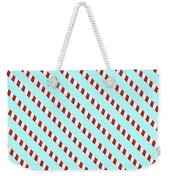 Barber Shop Wallpaper Weekender Tote Bag