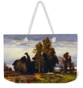 Barbizon Landscape Weekender Tote Bag